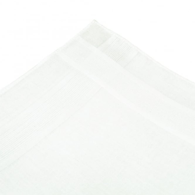 100% White Cotton Men's Handkerchief