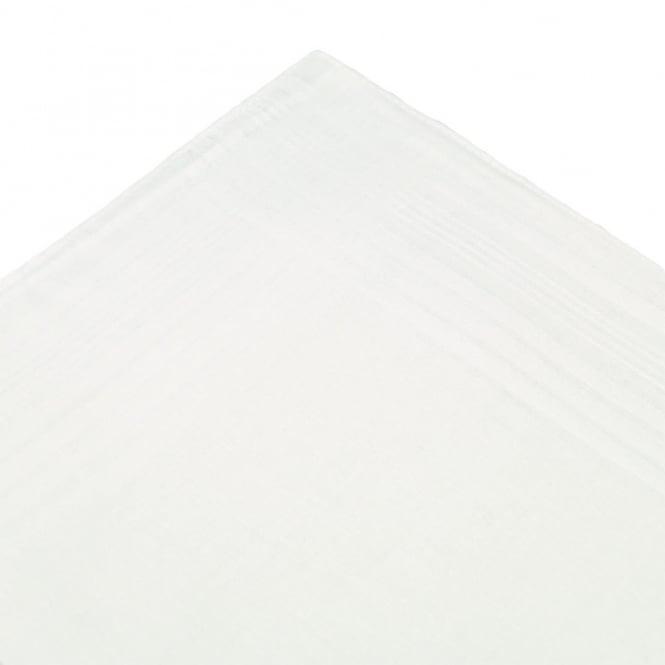 White Men's HandkerchiefSize: 40cm x 40cm100% Cotton