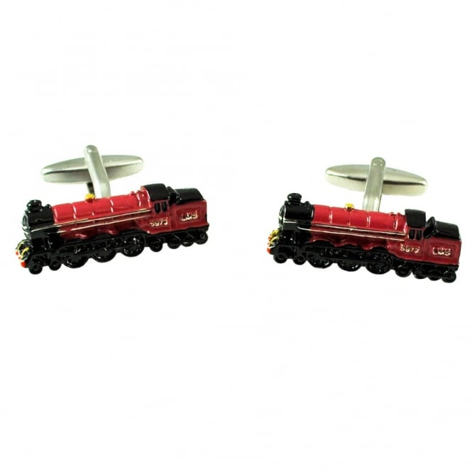 1937 Royal Scot Train Novelty Cufflinks