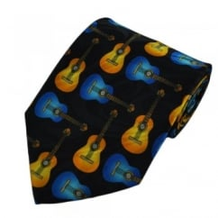 Acoustic Guitars Novelty Tie
