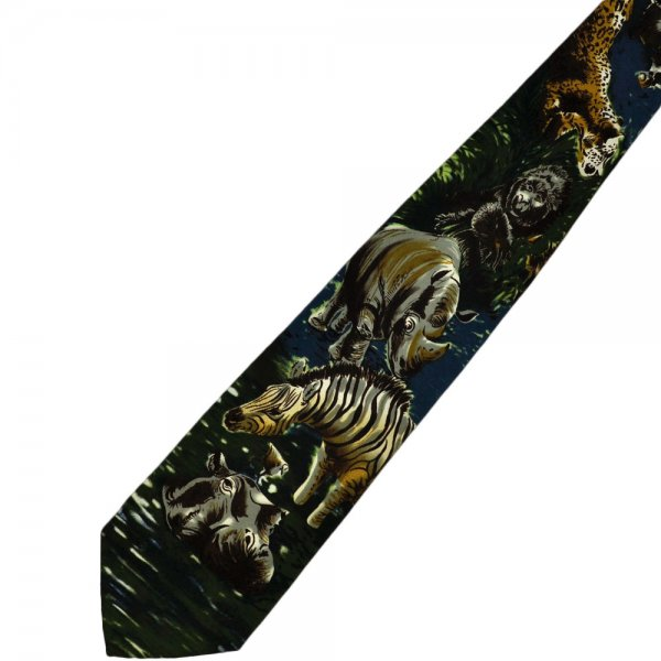 animals novelty tie from ties planet uk