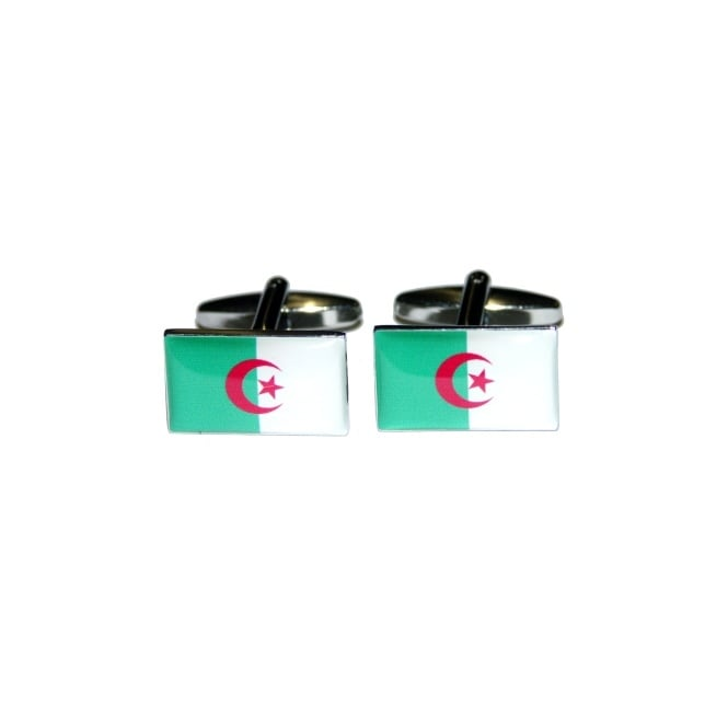 algeria flag novelty cufflinks