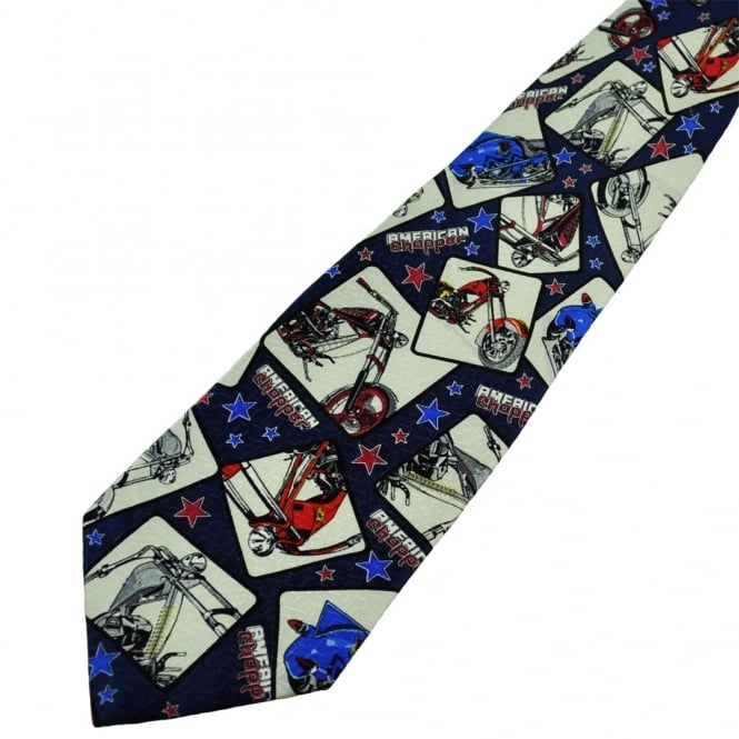 American Chopper Bike Novelty Tie