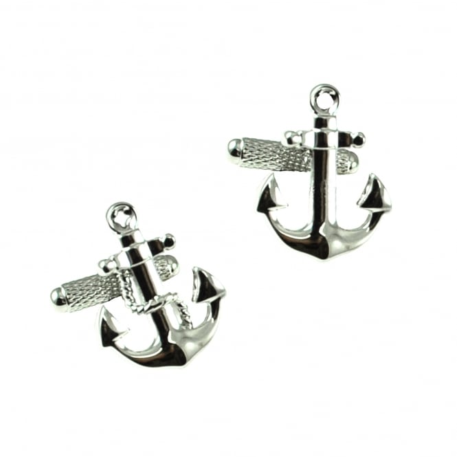 Anchor and Rope & Anchor Cufflinks