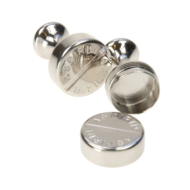 Aspirin Cufflinks By Simon Carter