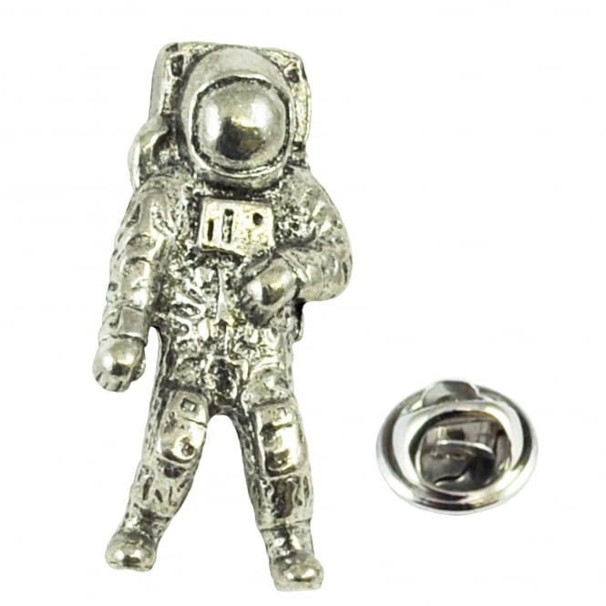 Astronaut Pewter Lapel Pin Badge