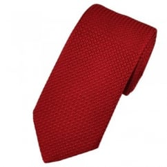 Atelier F&B Red Grenadine Silk Designer Tie