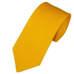 Atelier F&B Yellow Grenadine Silk Designer Tie