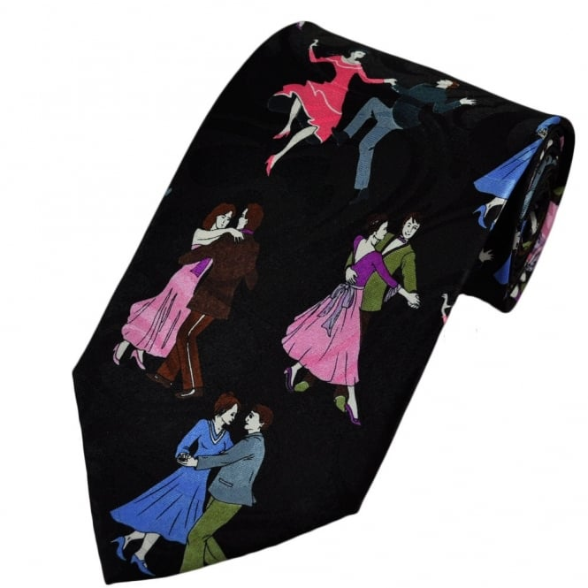 Ballroom Dancing Novelty Tie