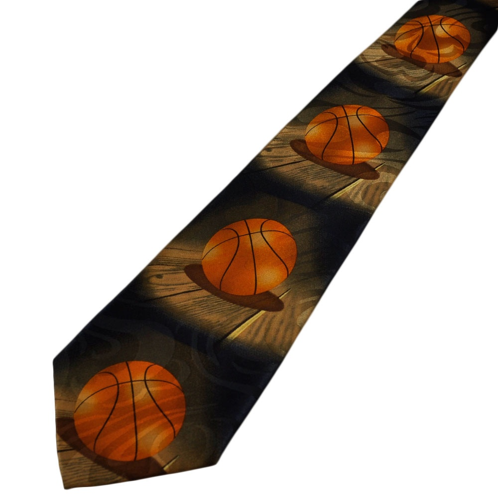 basketball novelty tie from ties planet uk