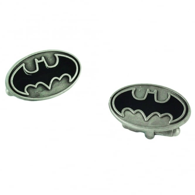 Batman Raised Enamel Logo Cufflinks