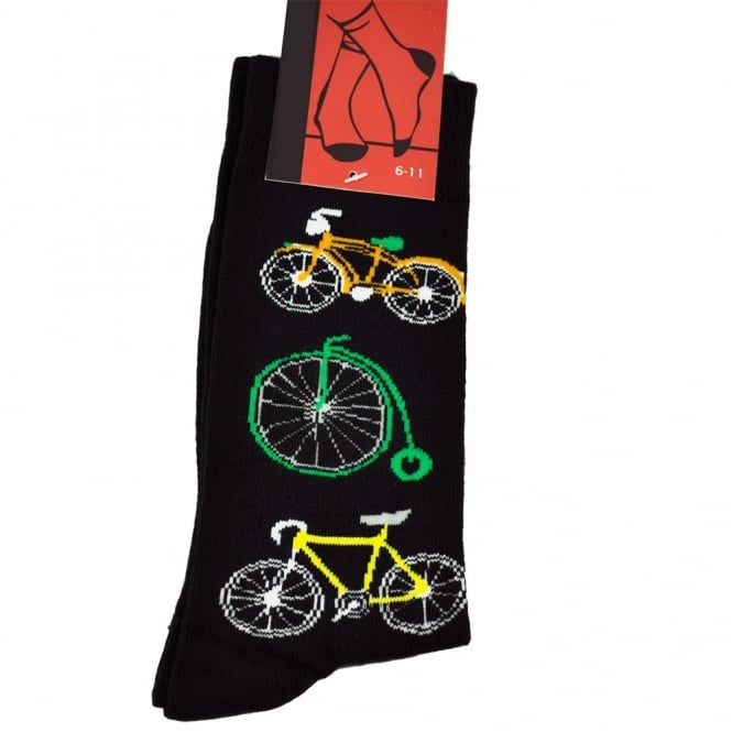 Bicycle Men's Novelty Socks