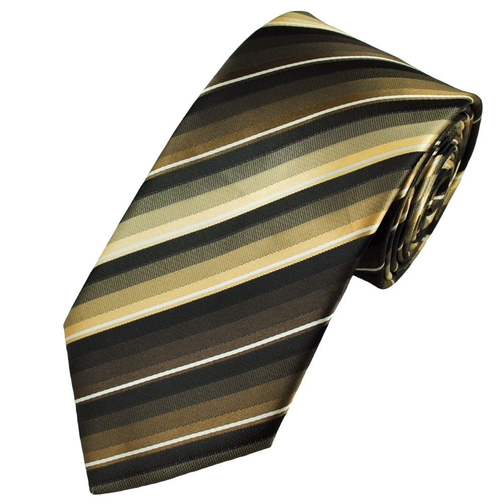 Sorry, that gold and white striped tie excited