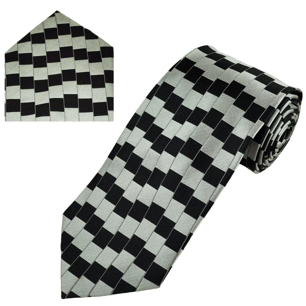 Illusion grey and square