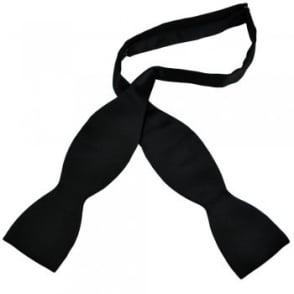 Black Self Tie Bow Tie