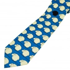 Black Sheep of the Family Blue Men's Novelty Tie