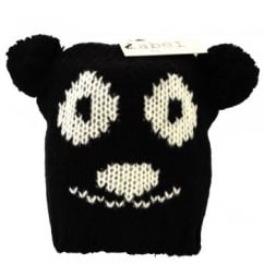 Black Teddy Bear Animal Hat