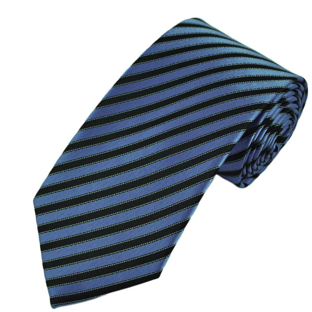 All our boys ties featured above are inches in length and will fit boys between the ages 6 and 11, or up to a height of 5 feet. For taller boys and for boy's with a stronger neck size we suggest a normal adult length necktie.