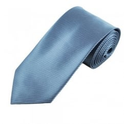 Blue & Black Striped Men's Tie