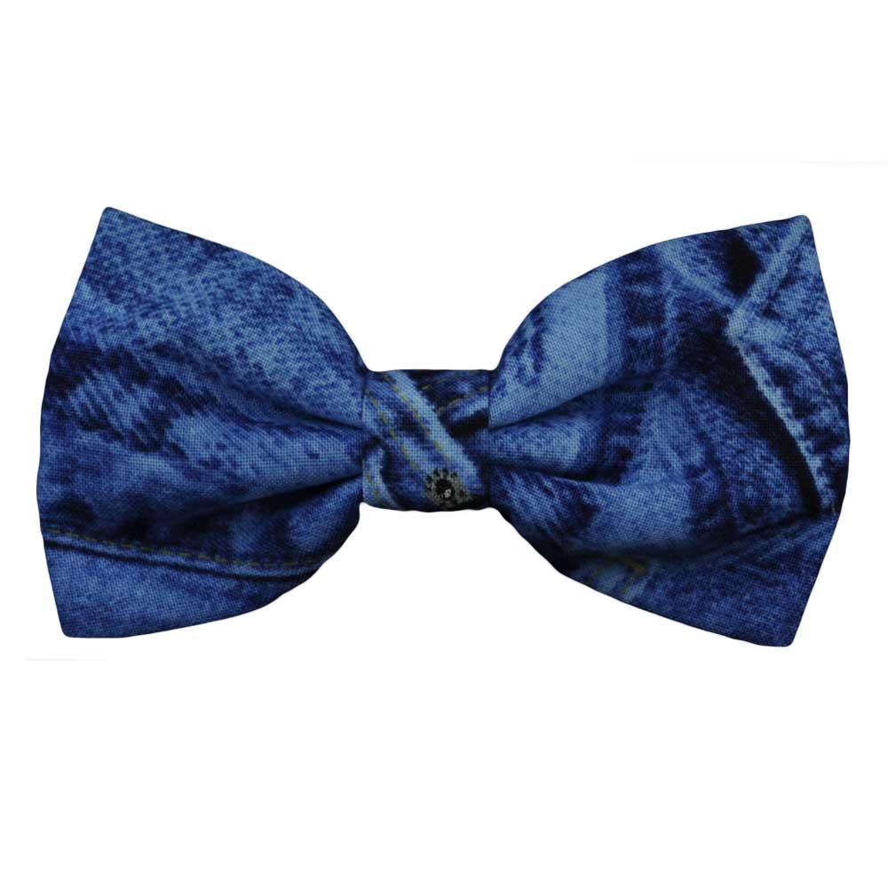 blue novelty bow tie from ties planet uk