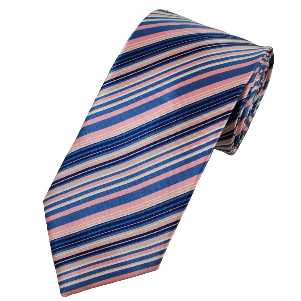 Think pink for a pop of color to your basic suit with Hugo Boss' slim millennial pink tie. The silk tie's woven detail gives a rich texture, while keeping it simple in pattern. Rock this necktie with just about any color suit in your closet, and you won't have to worry about it clashing.