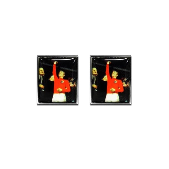 Bobby Moore World Cup 1966 Novelty Cufflinks
