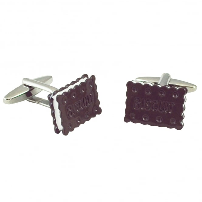 Bourbon Biscuit Novelty Cufflinks