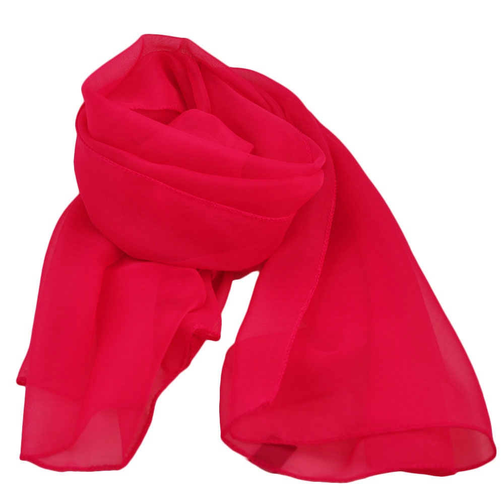 bright pink chiffon scarf from ties planet uk