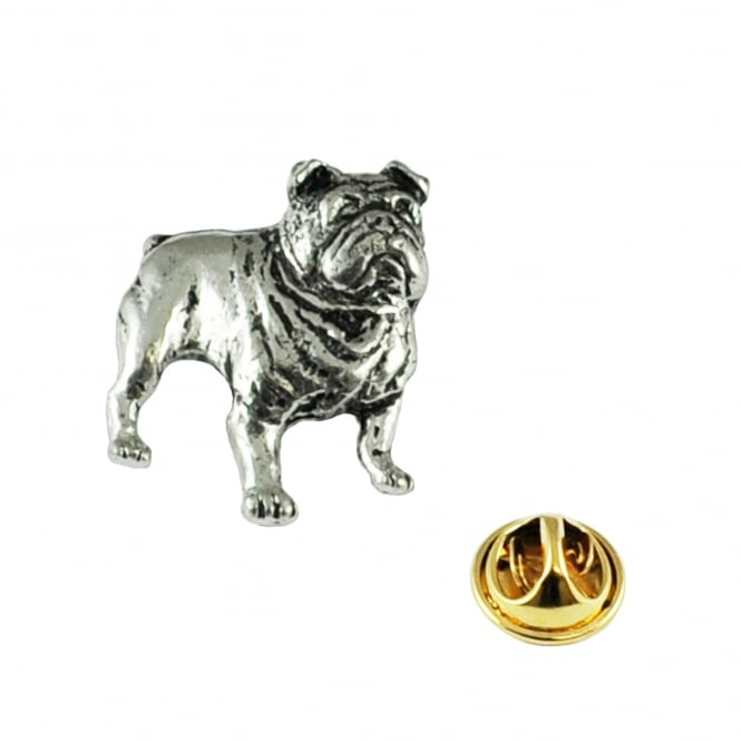 British Bulldog Pewter Lapel Pin Badge