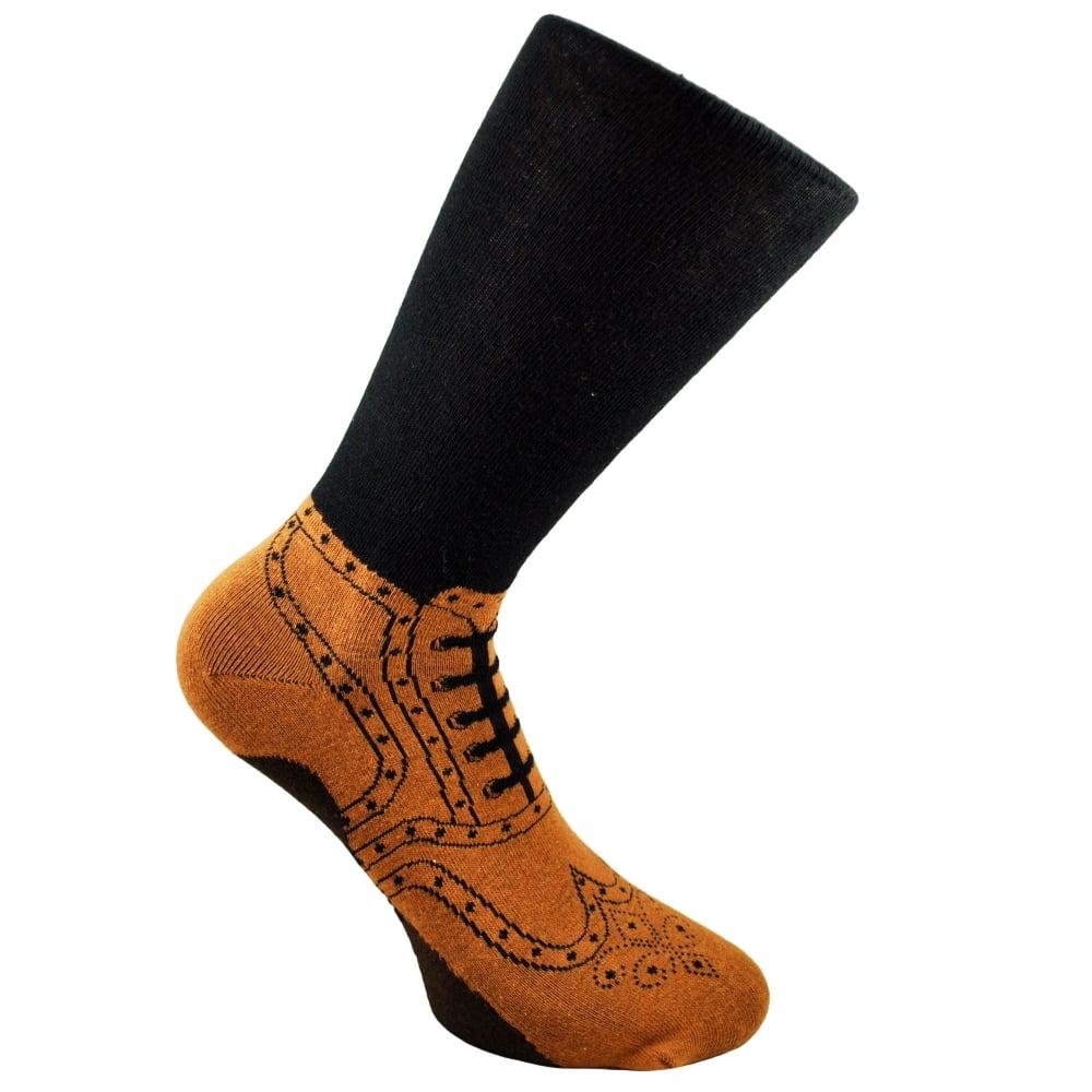 Brogues Men's Novelty Socks 5-11