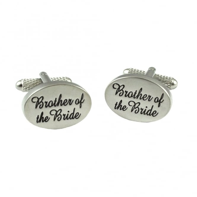 Brother of the Bride Wedding Cufflinks