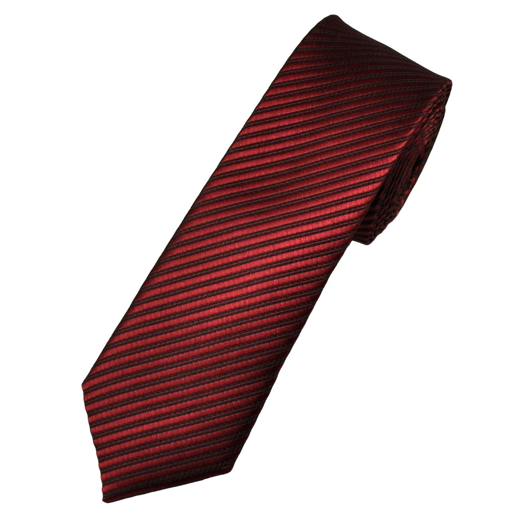 burgundy black striped tie from ties planet uk