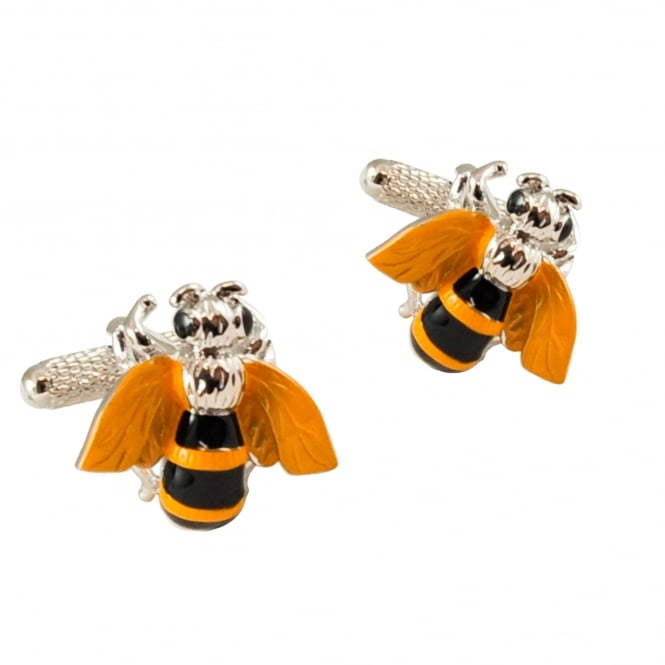 Busy Bee Novelty Cufflinks