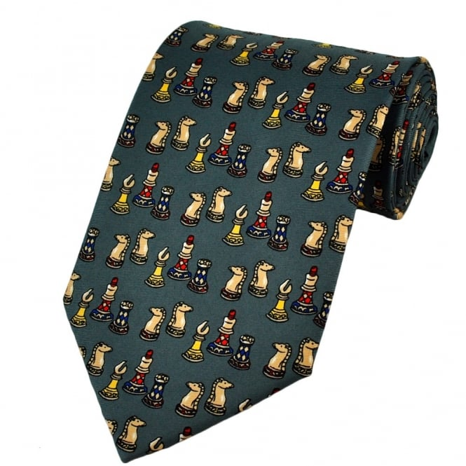 Chess Novelty Tie