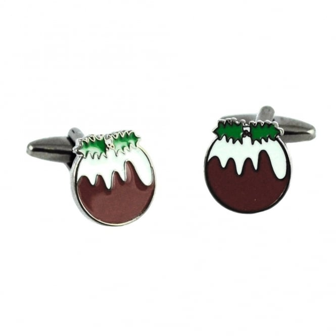 Christmas Pudding Cufflinks