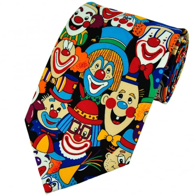 Clowns Novelty Tie