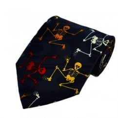 Colourful Skeletons Novelty Tie