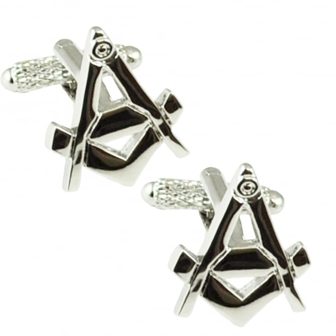 Compass & Square Masonic Cufflinks