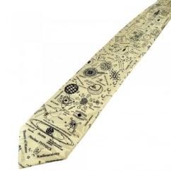 Cream Physics Novelty Tie