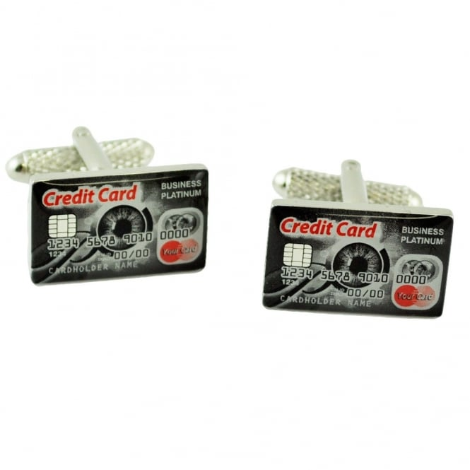 Credit Card Novelty Cufflinks