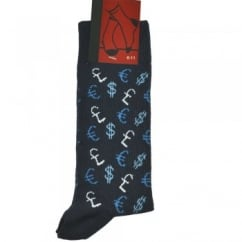 Currency Signs Men's Novelty Socks