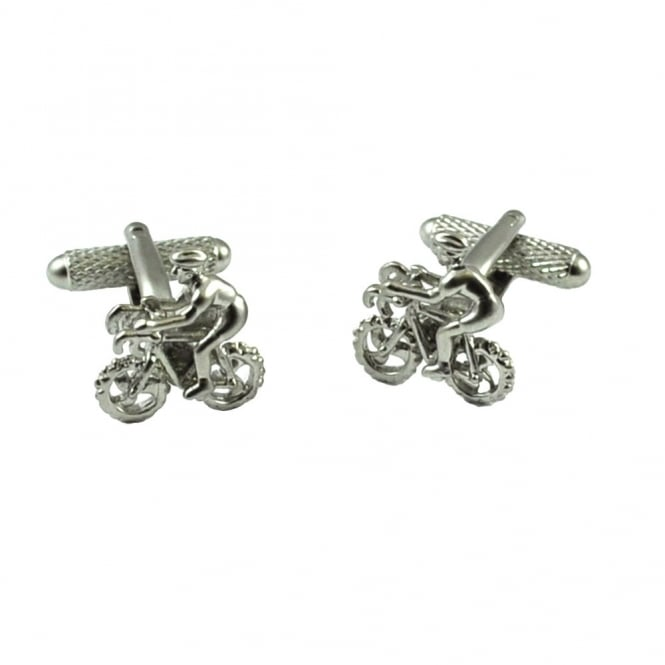 Cycling Novelty Cufflinks