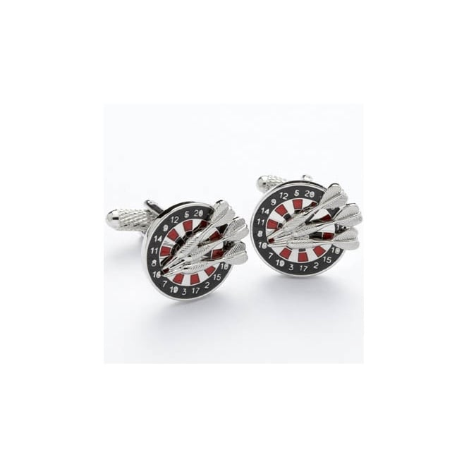 Dartboard Novelty Cufflinks