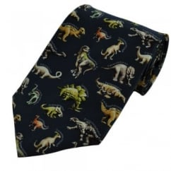 Dinosaurs Novelty Silk Tie