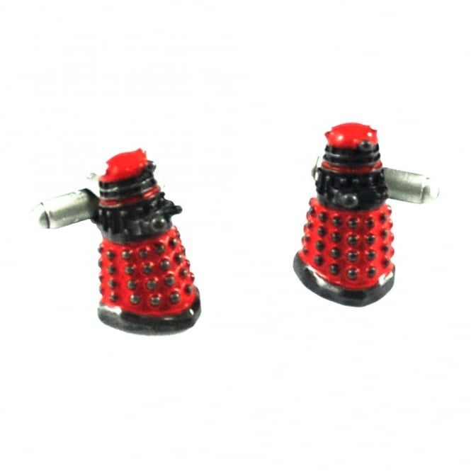Doctor Who 3D Dalek Red Novelty Cufflinks
