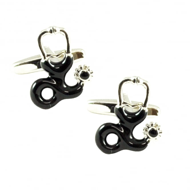 Doctors Stethoscope Novelty Cufflinks