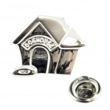 Doghouse Lapel Pin Badge
