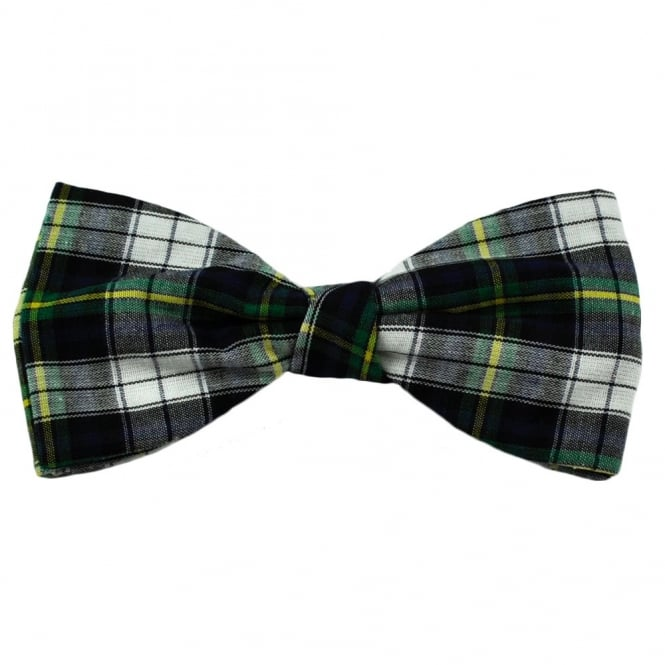 Dress Gordon Tartan Patterned Bow Tie by Van Buck