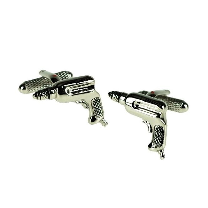 Drill Novelty Cufflinks