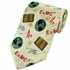 E=MC2 Science Novelty Tie